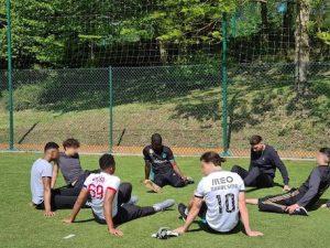 Carl Medjani rencontre les jeunes du CEF La Mazille à Saint Jean La Bussière